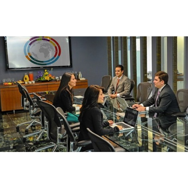 Mexico City - Torre Mapfre - Meeting rooms
